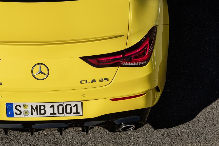 C118 Mercedes-AMG CLA35 4Matic debuts with 302 hp Image #944614