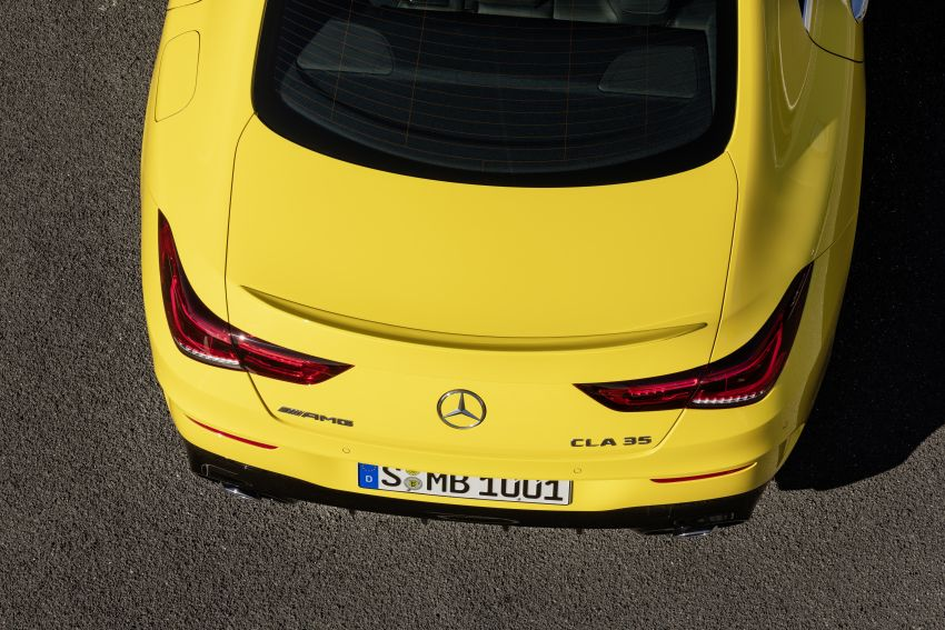 C118 Mercedes-AMG CLA35 4Matic debuts with 302 hp Image #944615