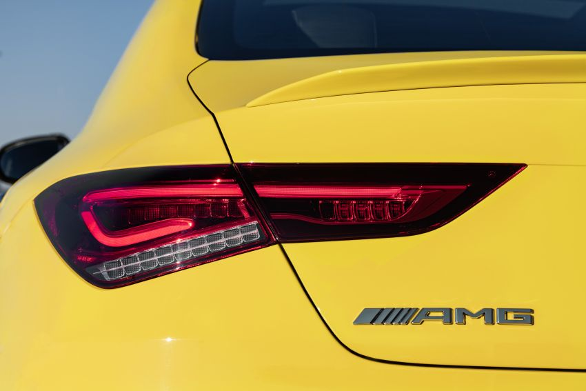 C118 Mercedes-AMG CLA35 4Matic debuts with 302 hp Image #944628
