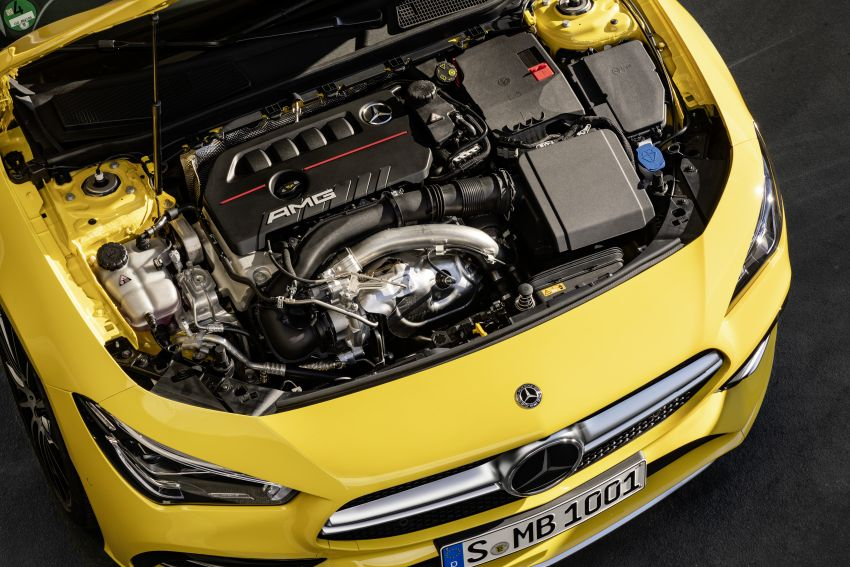 C118 Mercedes-AMG CLA35 4Matic debuts with 302 hp Image #944635