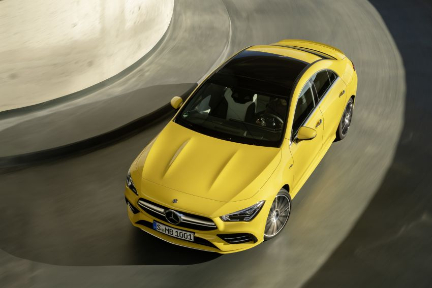 C118 Mercedes-AMG CLA35 4Matic debuts with 302 hp Image #944636