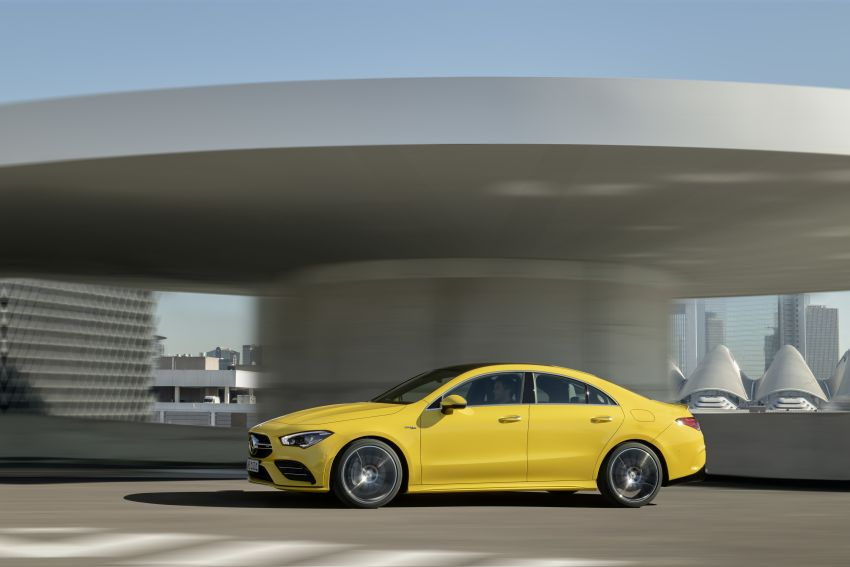 C118 Mercedes-AMG CLA35 4Matic debuts with 302 hp Image #944638