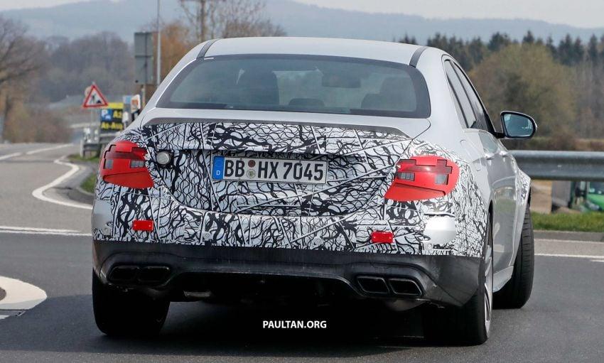 SPYSHOTS: W213 Mercedes-AMG E63 facelift spotted Image #949902