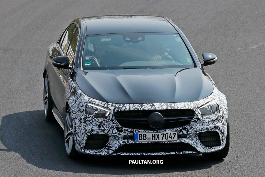 SPYSHOTS: W213 Mercedes-AMG E63 facelift spotted Image #949906