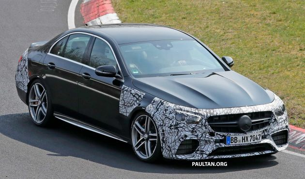 SPYSHOTS: W213 Mercedes-AMG E63 facelift spotted