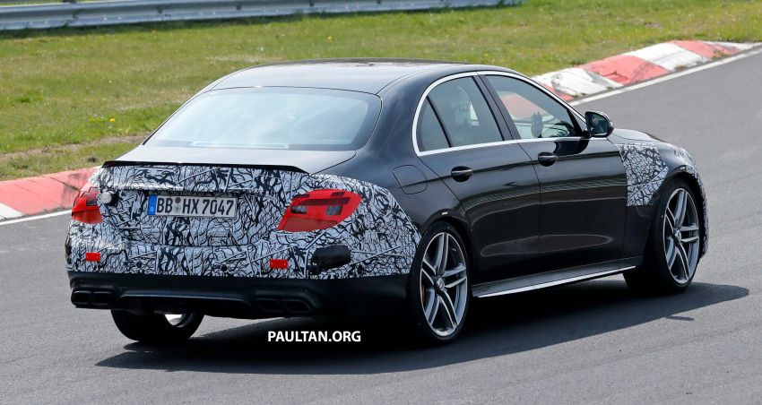 SPYSHOTS: W213 Mercedes-AMG E63 facelift spotted Image #949911