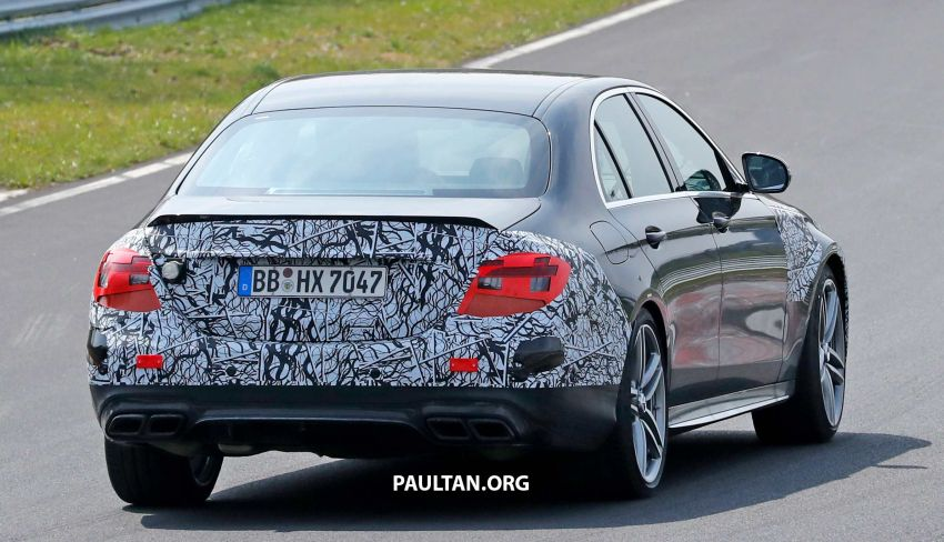 SPYSHOTS: W213 Mercedes-AMG E63 facelift spotted Image #949912
