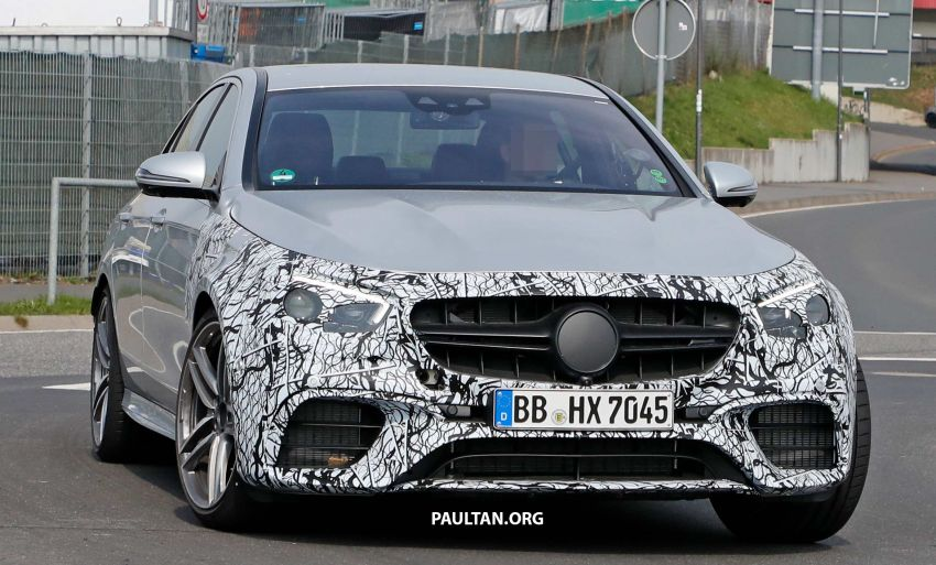 SPYSHOTS: W213 Mercedes-AMG E63 facelift spotted Image #949890