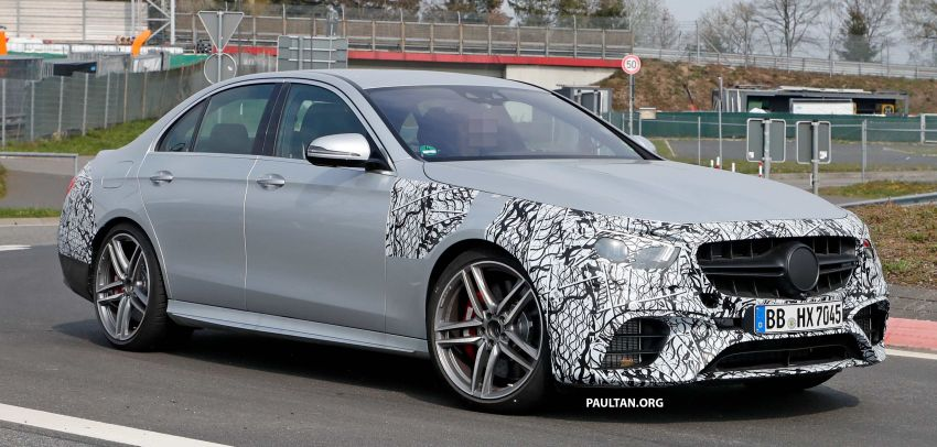 SPYSHOTS: W213 Mercedes-AMG E63 facelift spotted Image #949894
