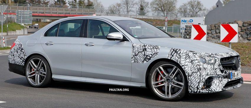 SPYSHOTS: W213 Mercedes-AMG E63 facelift spotted Image #949896