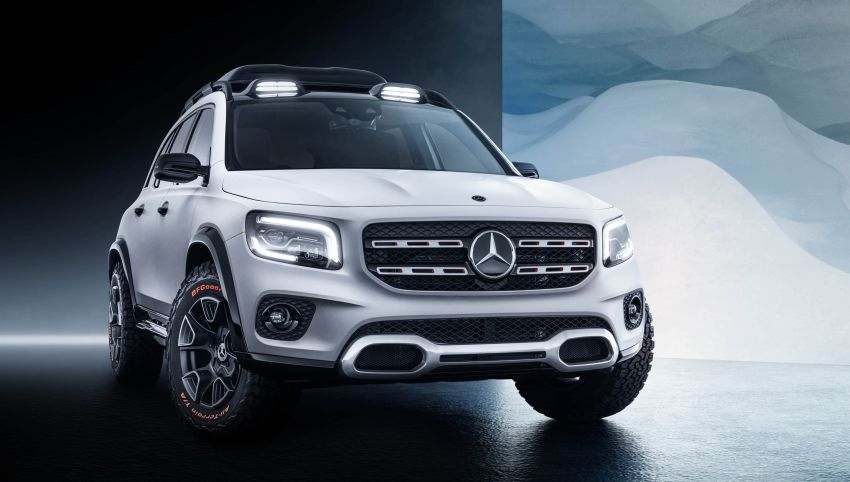 Mercedes-Benz Concept GLB unveiled in Shanghai Image #948009