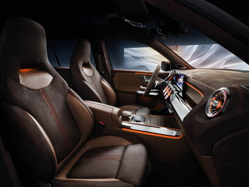 Mercedes-Benz Concept GLB unveiled in Shanghai Image #948021