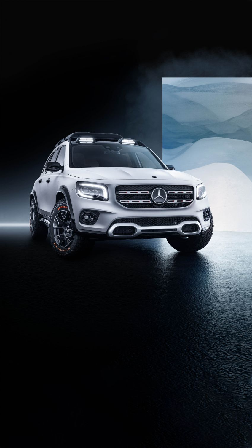 Mercedes-Benz Concept GLB unveiled in Shanghai Image #948027