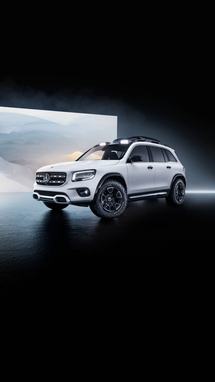 Mercedes-Benz Concept GLB unveiled in Shanghai Image #948028