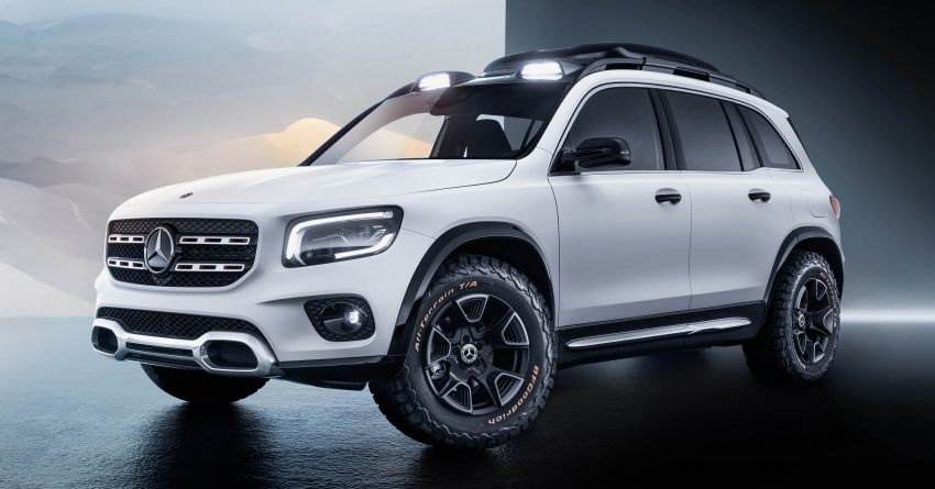 Mercedes-Benz Concept GLB unveiled in Shanghai Image #948011