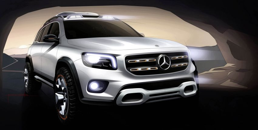 Mercedes-Benz Concept GLB unveiled in Shanghai Image #948031
