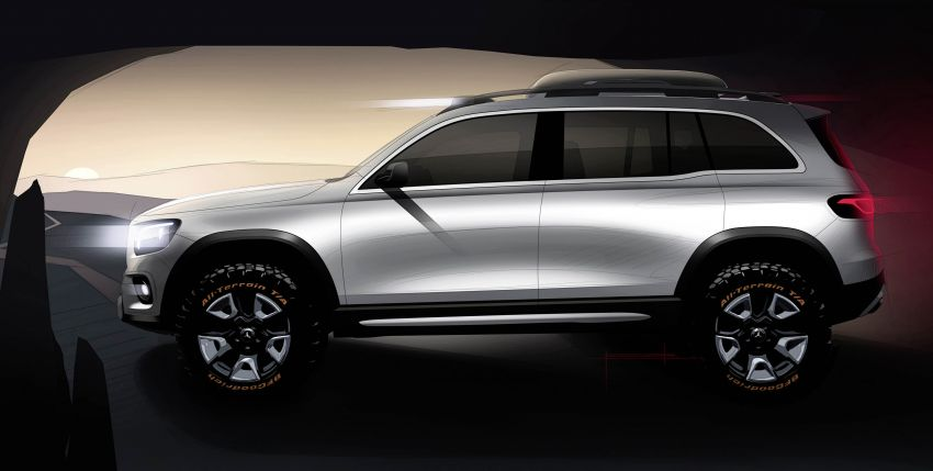 Mercedes-Benz Concept GLB unveiled in Shanghai Image #948032