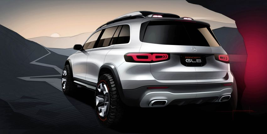 Mercedes-Benz Concept GLB unveiled in Shanghai Image #948033