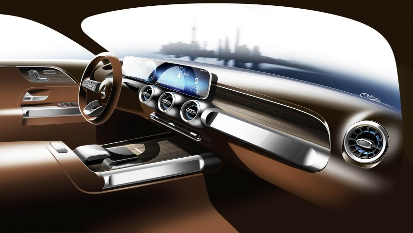 Mercedes-Benz Concept GLB unveiled in Shanghai Image #948034