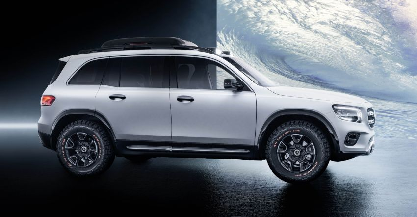 Mercedes-Benz Concept GLB unveiled in Shanghai Image #948012