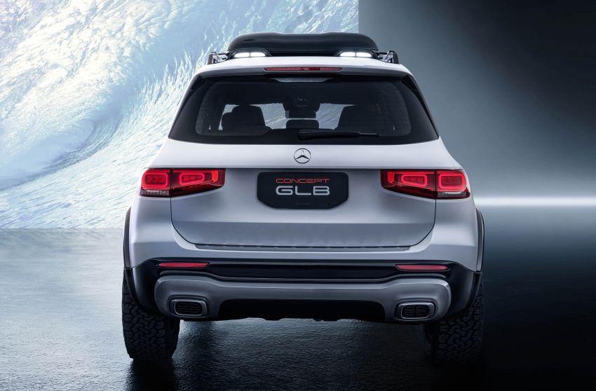 Mercedes-Benz Concept GLB unveiled in Shanghai Image #948013