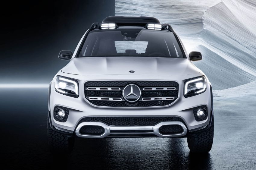 Mercedes-Benz Concept GLB unveiled in Shanghai Image #948014