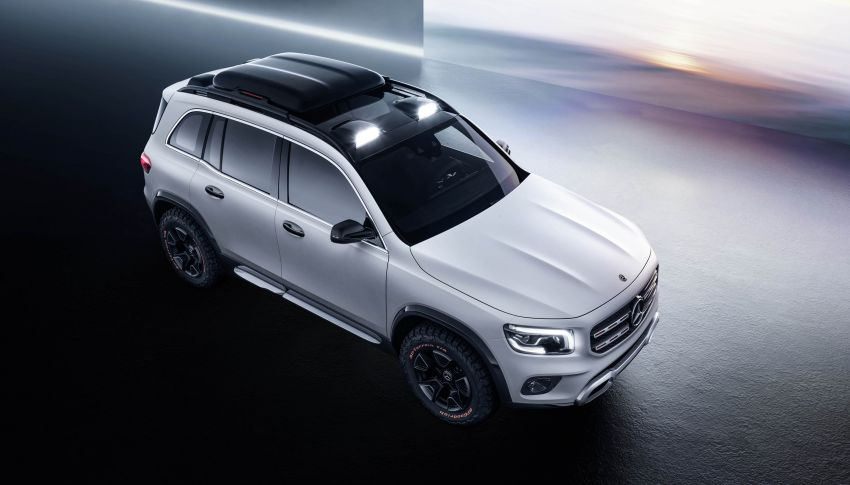 Mercedes-Benz Concept GLB unveiled in Shanghai Image #948015