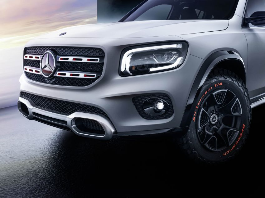 Mercedes-Benz Concept GLB unveiled in Shanghai Image #948017