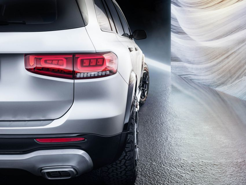 Mercedes-Benz Concept GLB unveiled in Shanghai Image #948018