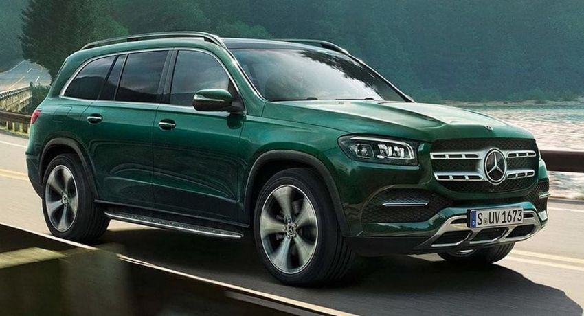 2020 Mercedes-Benz GLS – full-sized X7 rival leaked! Image #947634