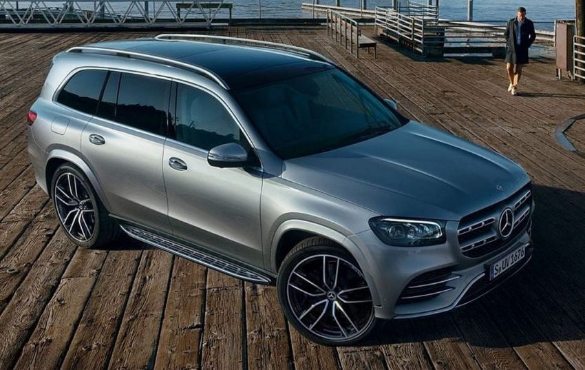 2020 Mercedes-Benz GLS – full-sized X7 rival leaked! Image #947635