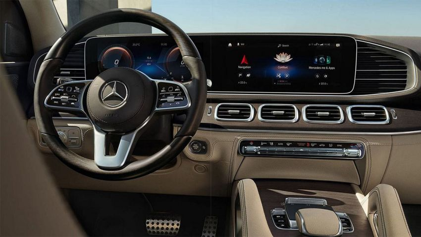 2020 Mercedes-Benz GLS – full-sized X7 rival leaked! Image #947636