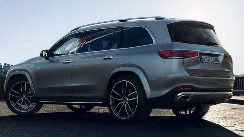 2020 Mercedes-Benz GLS – full-sized X7 rival leaked! Image #947632