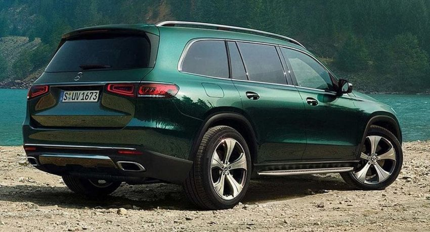 2020 Mercedes-Benz GLS – full-sized X7 rival leaked! Image #947633