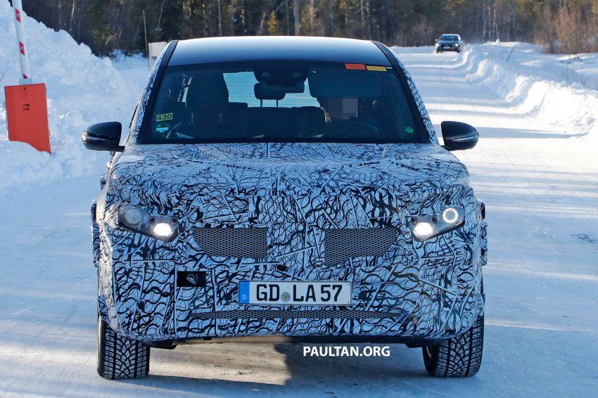 SPYSHOTS: Mercedes-Benz GLB goes fully electric Image #943542