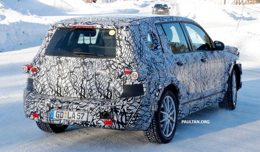 SPYSHOTS: Mercedes-Benz GLB goes fully electric Image #943551