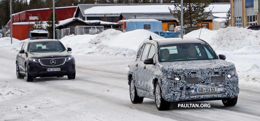 SPYSHOTS: Mercedes-Benz GLB goes fully electric Image #943554