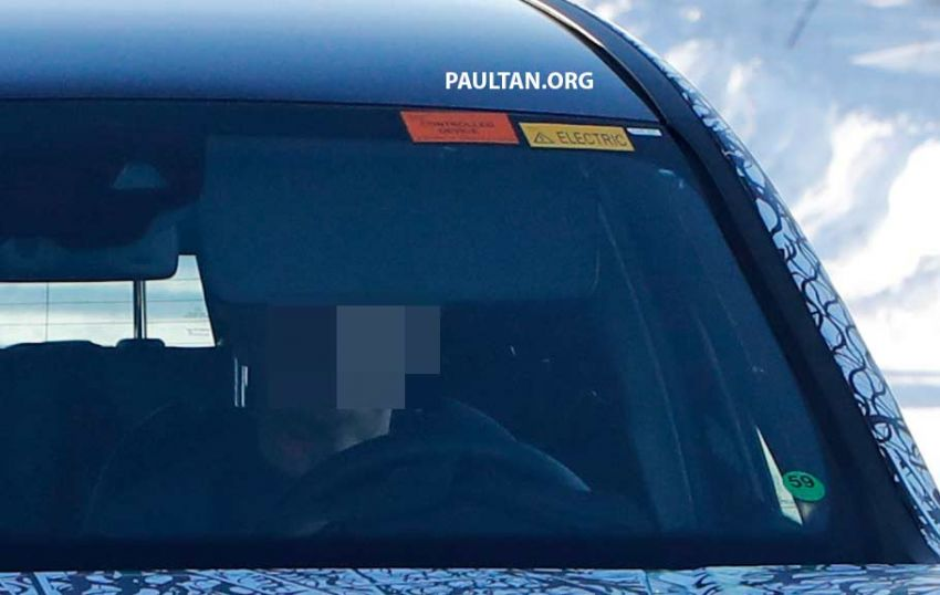 SPYSHOTS: Mercedes-Benz GLB goes fully electric Image #943544