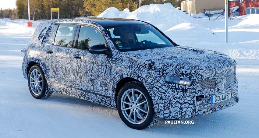 SPYSHOTS: Mercedes-Benz GLB goes fully electric Image #943546
