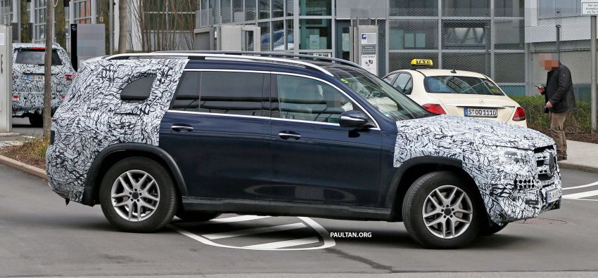 SPYSHOTS: Next Mercedes-Benz GLS in less camo Image #945142