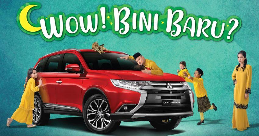 Mitsubishi umum promosi Raya – rebat RM4,000 untuk ASX dan Outlander, hingga RM6,000 untuk Triton Image #950589