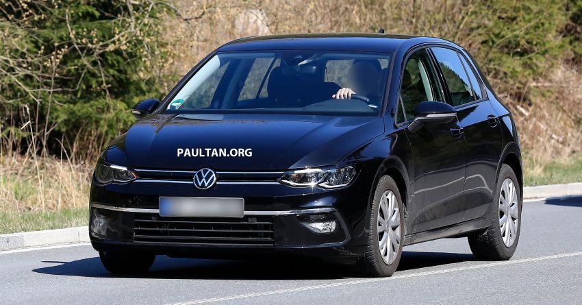 SPYSHOT: Volkswagen Golf Mk8 diuji tanpa menyamar Image #955075