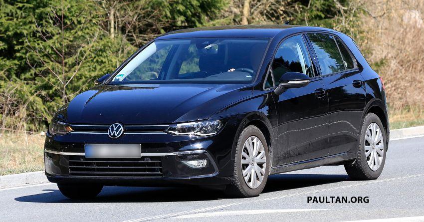 SPYSHOT: Volkswagen Golf Mk8 diuji tanpa menyamar Image #955074