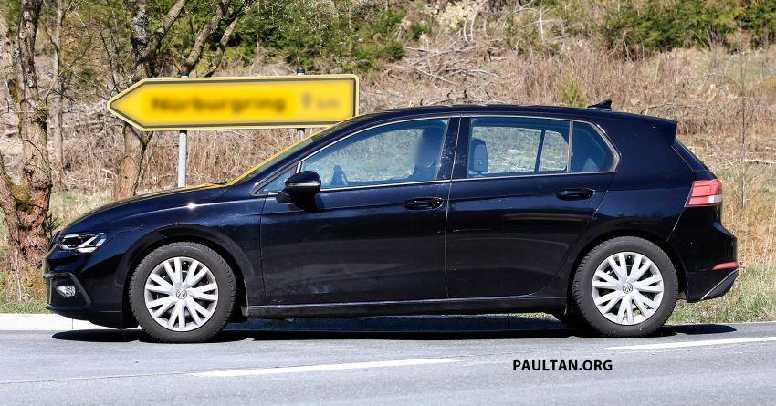 SPYSHOT: Volkswagen Golf Mk8 diuji tanpa menyamar Image #955070