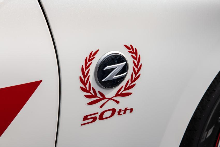 Nissan 370Z 50th Anniversary Edition – kenang BRE Datsun 240Z yang dipandu John Morton di era 70'an Image #948510