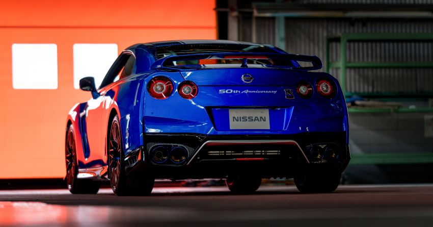 Nissan GT-R 50th Anniversary Edition debuts in NY – celebrating half a century of a legendary nameplate Image #948557