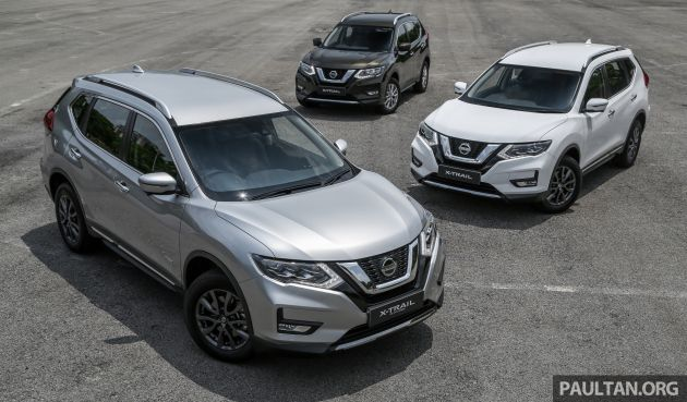 2019 Nissan X Trail Facelift In Malaysia Spec By Spec Comparison