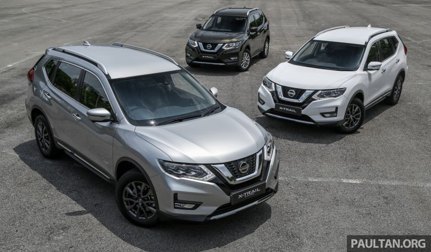 2019 Nissan X-Trail facelift in Malaysia: spec-by-spec comparison for all variants – from RM134k to RM160k Image #950041