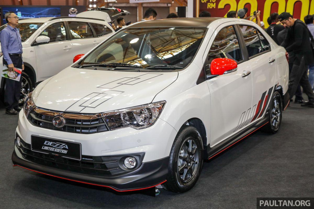 Perodua Bezza Limited Edition dilancar - RM44,890