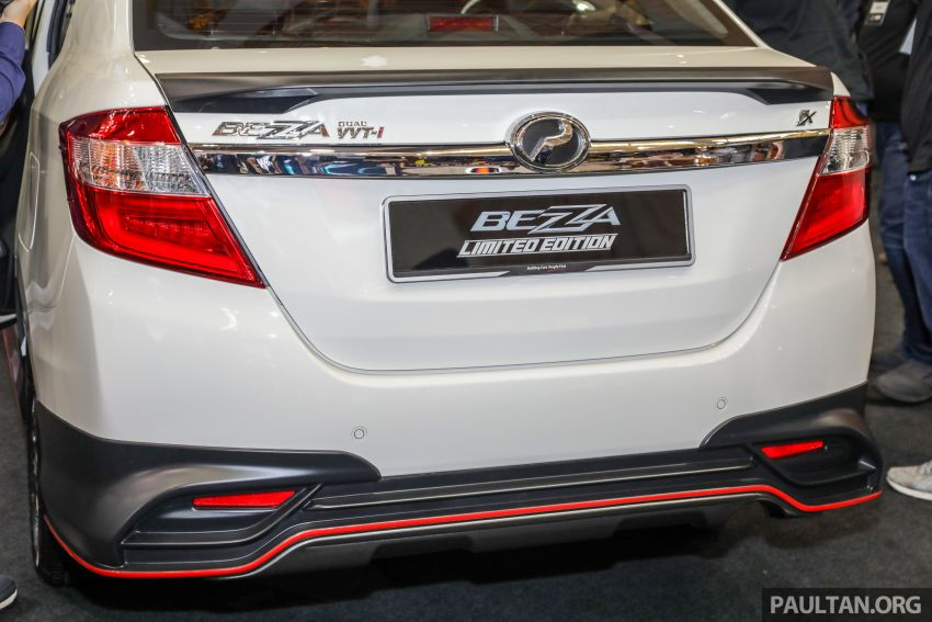 Perodua Bezza Limited Edition launched, RM44,890 Image #945308